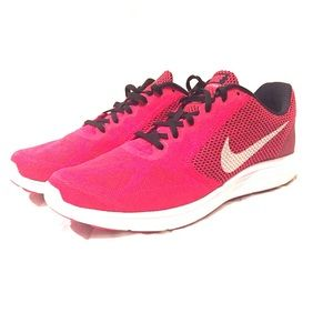 Nike Shoes - Nike Red Revolution Running Shoes - NWT